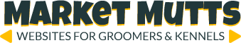 Market Mutts (Website for Dog Groomers) Logo
